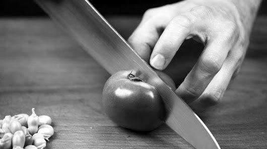 Il coltello da cucina