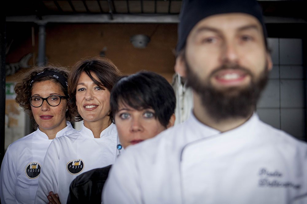 Pasta in Rome Team - Ph. Raffaella Midiri Photographer