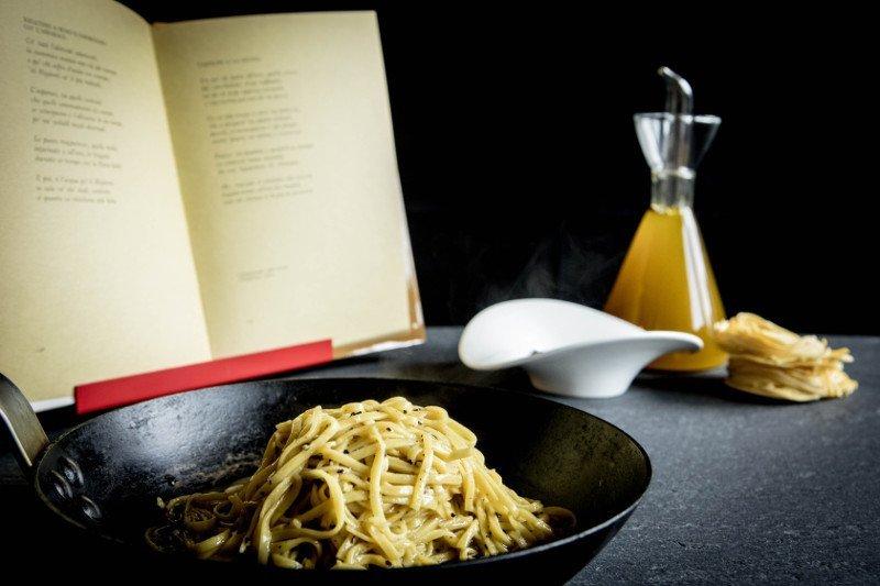 I primi matecati - corso chef Dalicandro - ricetta tajolini alla Giudia di A. Fabrizi