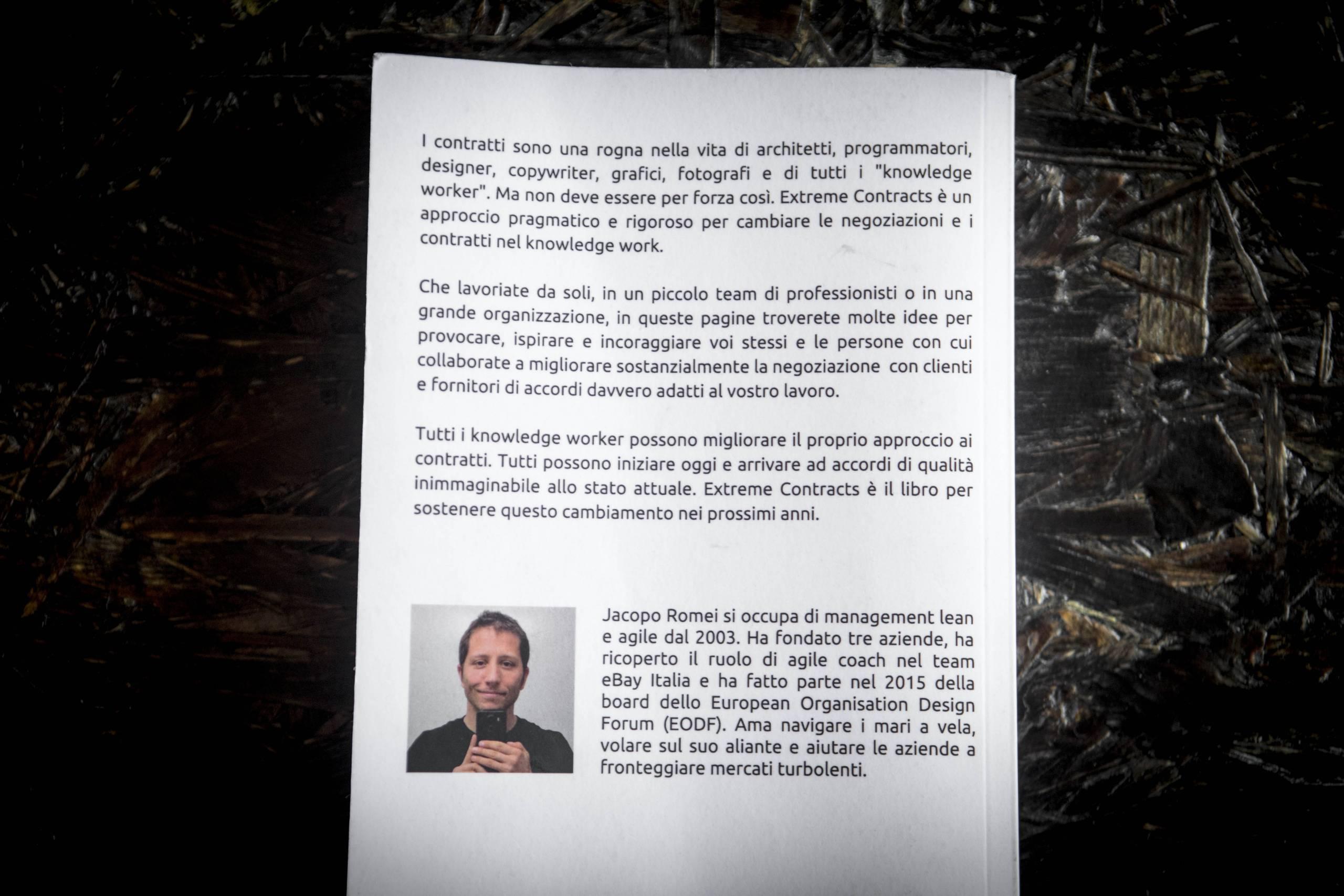 Extreme Contracts di Jacopo Romei